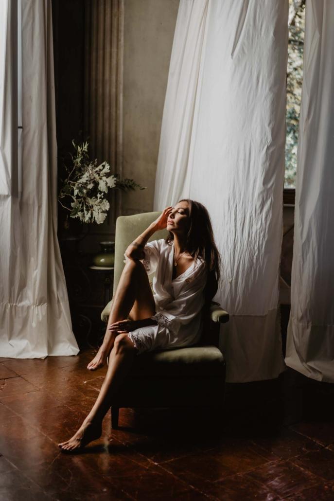 A wedding at Stomennano, blending fashion and drama :: 31