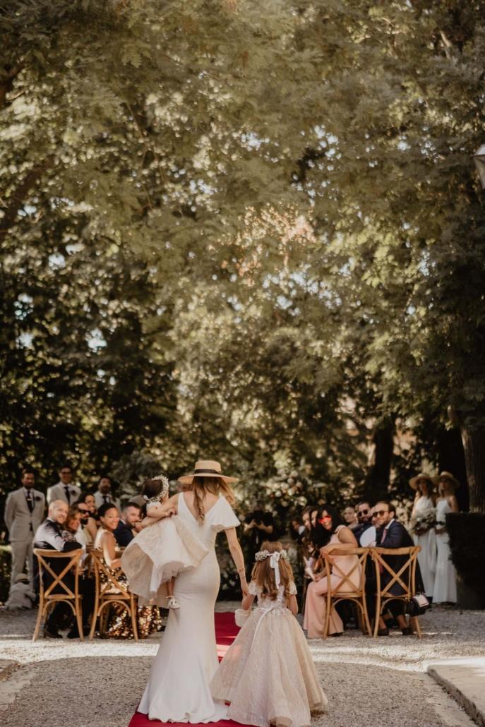 A wedding at Stomennano, blending fashion and drama :: 42