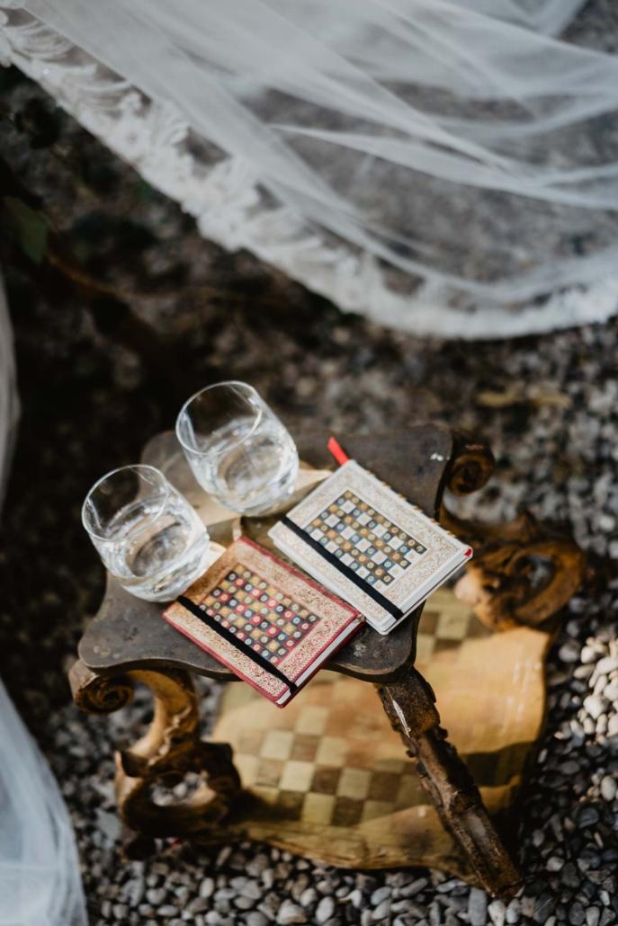 A wedding at Stomennano, blending fashion and drama :: 47