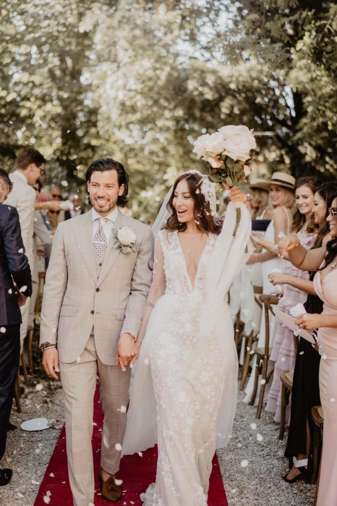 A wedding at Stomennano, blending fashion and drama :: 50