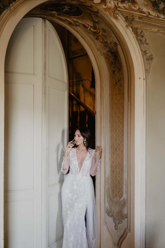 A wedding at Stomennano, blending fashion and drama :: 57