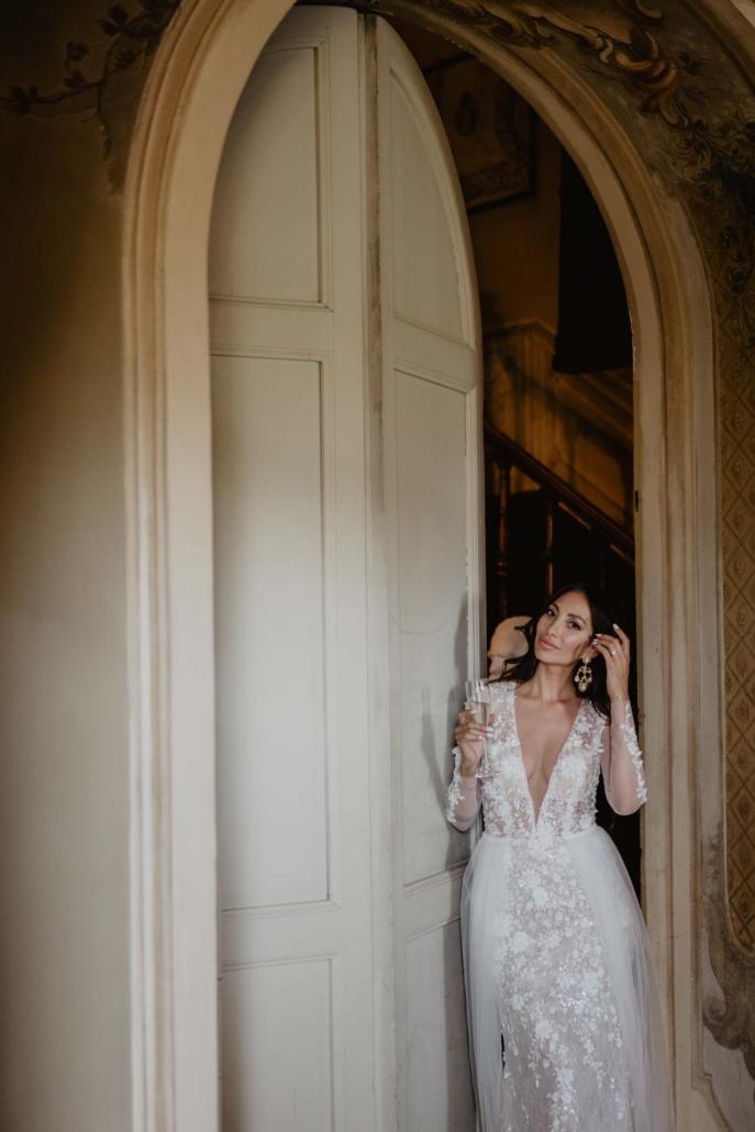 A wedding at Stomennano, blending fashion and drama :: 58