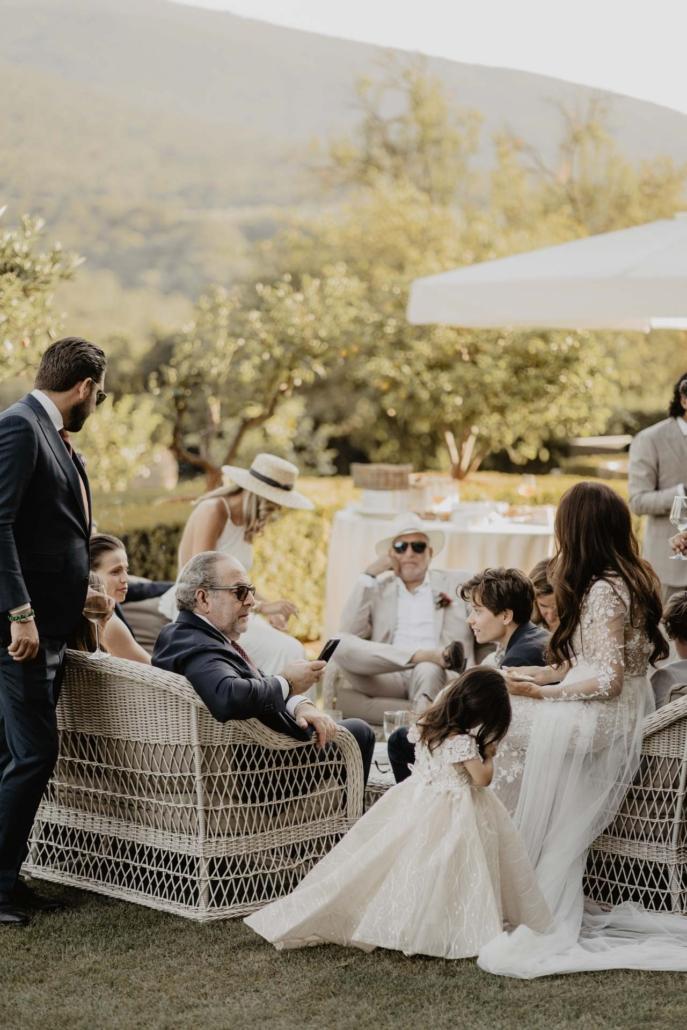 A wedding at Stomennano, blending fashion and drama :: 59