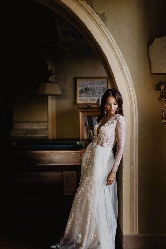 A wedding at Stomennano, blending fashion and drama :: 61