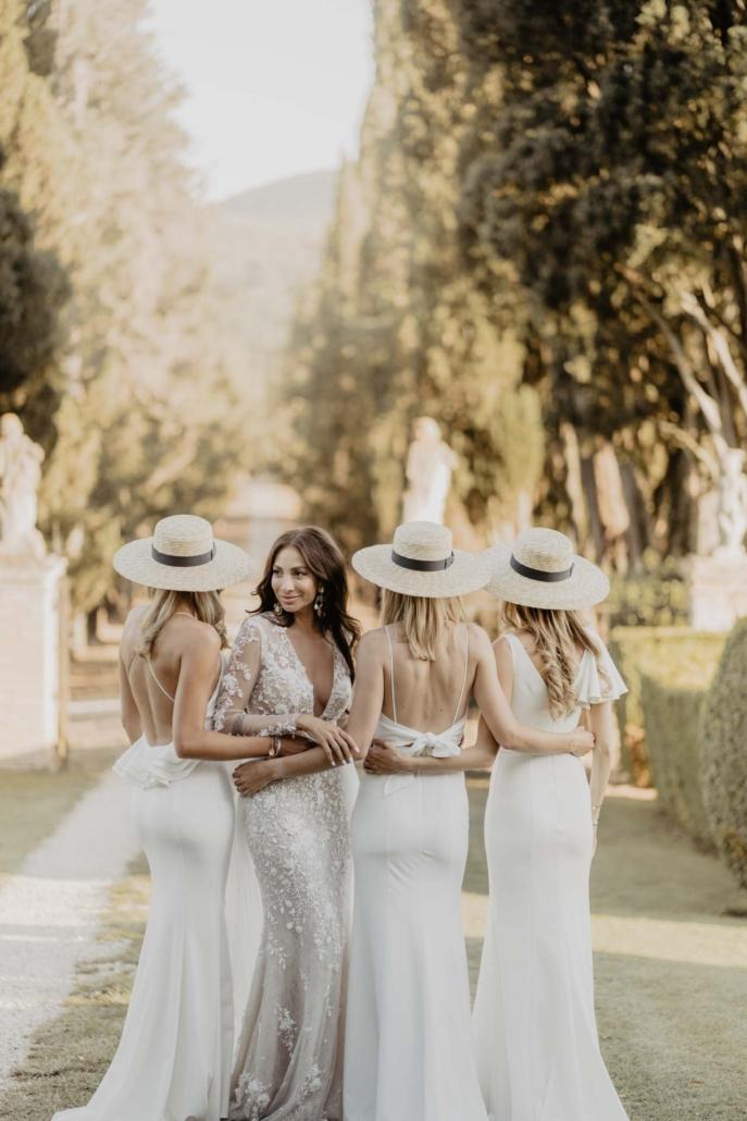 A wedding at Stomennano, blending fashion and drama :: 62