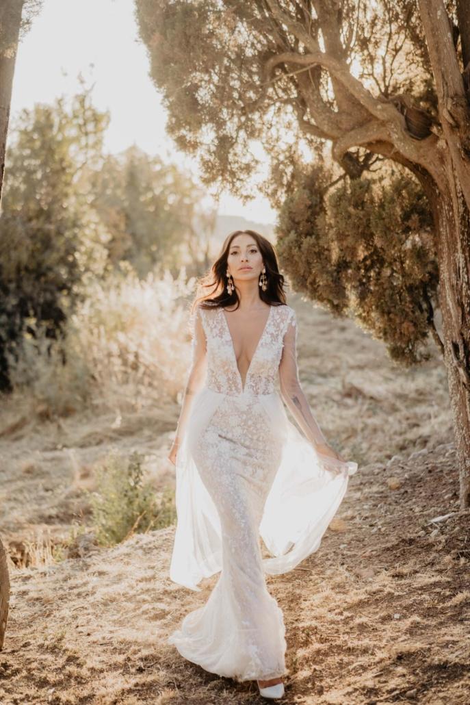 A wedding at Stomennano, blending fashion and drama :: 70