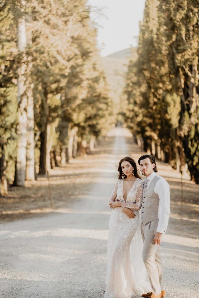 A wedding at Stomennano, blending fashion and drama :: 72