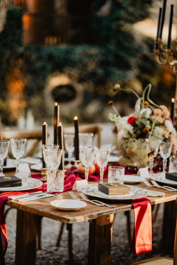 A wedding at Stomennano, blending fashion and drama :: 74