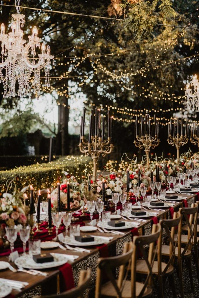 A wedding at Stomennano, blending fashion and drama :: 75