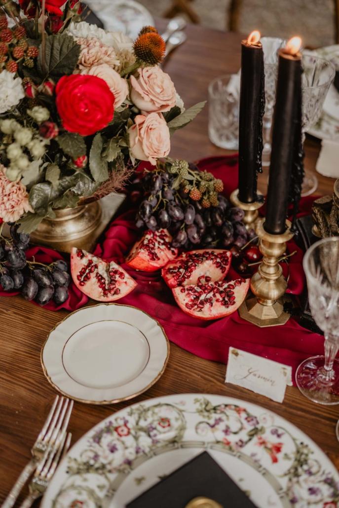 A wedding at Stomennano, blending fashion and drama :: 76