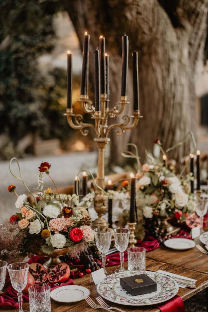 A wedding at Stomennano, blending fashion and drama :: 77