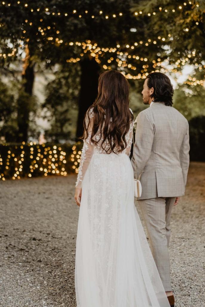A wedding at Stomennano, blending fashion and drama :: 78