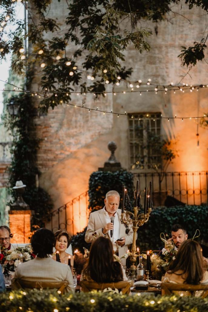 A wedding at Stomennano, blending fashion and drama :: 80