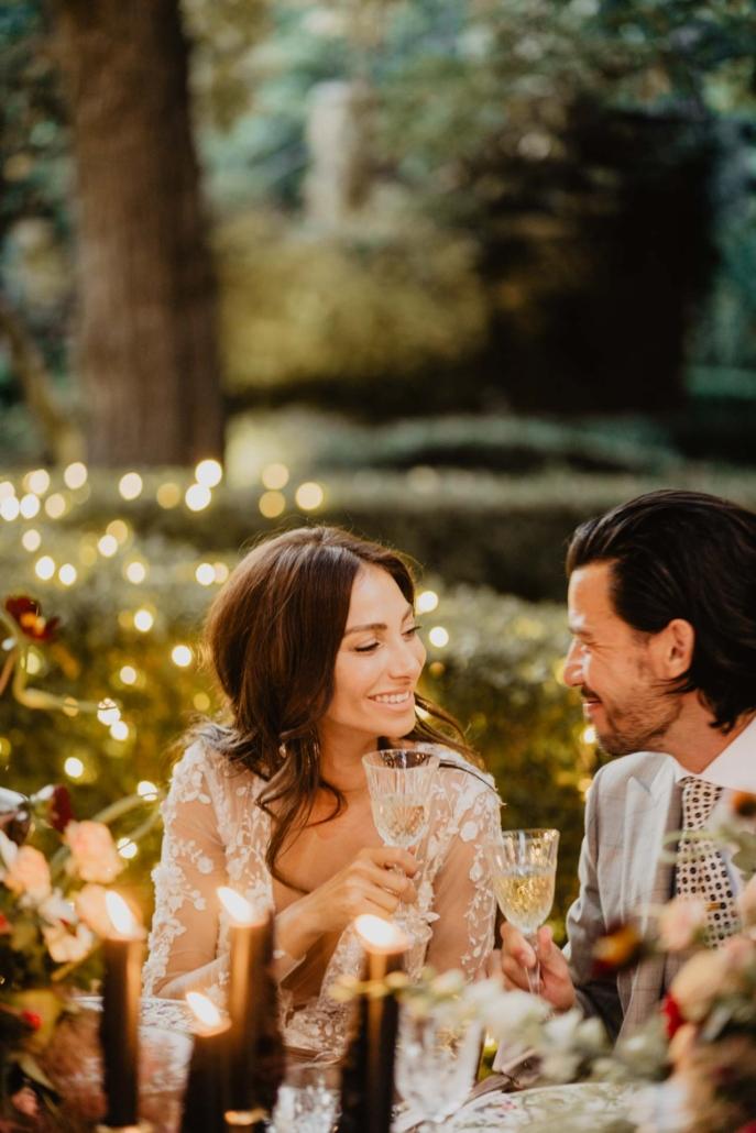 A wedding at Stomennano, blending fashion and drama :: 81